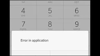 How to remove sim Toolkit error or input inviled in mobile phone