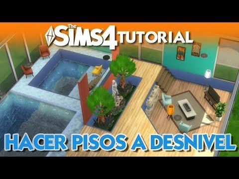 Hacer pisos a desnivel en Los Sims 4   Trucos y Consejos