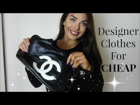 How I Get Designer Clothes For CHEAP