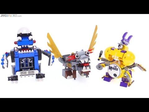 LEGO Mixels Series 7 MAX combinations!