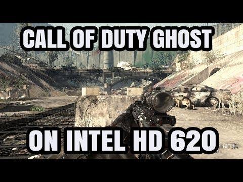 Call OF Duty Ghosts ON Intel HD 620 Graphics Core i5 7200U