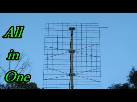 Build The All in 1 TV Antenna Pt 2
