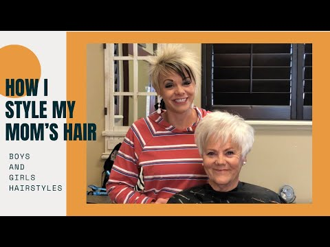 How To Style Trendy Haircut for (Grandma Hairstyle)