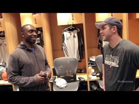Inside the San Antonio Spurs' Locker Rooms | Sole Access
