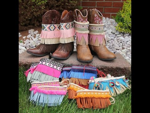 Boho Boot Covers by CKC Patterns