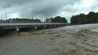 В Успенском районе Кубани вода не достигла критических отметок