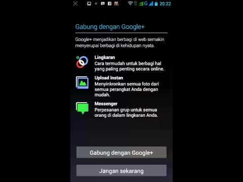 Cara membuat akun gmail dengan Ponsel Android