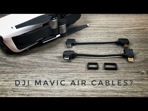 DJI Mavic Air USB Cables Explained