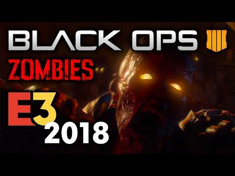 Black Ops 4 ZOMBIES at E3 2018 - Call of Duty Black Ops 4