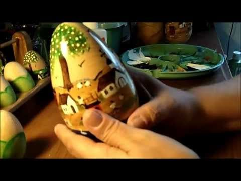 Part 1 of 2 -Primitive Painting Eggs Tips, and SAVING YOU MONEY!!!