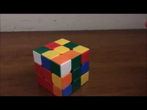 Easiest way to solve the 3x3x3 Rubik's cube using F2L (No algorithms)