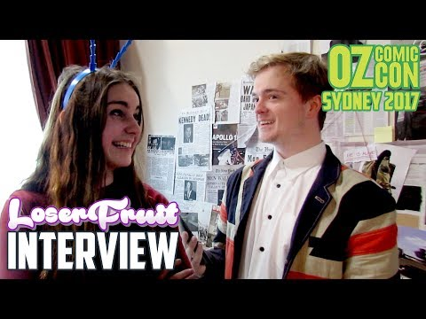 A Loserfruit 'Interview' | OzComicCon 2017