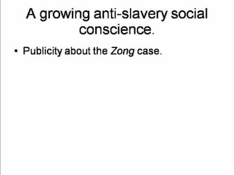 A1. The British Anti-Slavery Movement: Beginnings, 1767-1786