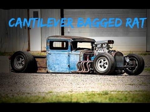 SICK rat truck w/ Cantilever air bag setup!