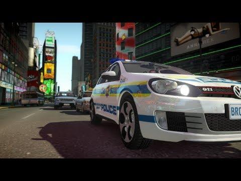 2010 Golf GTI Police [GTA IV Car Mod]