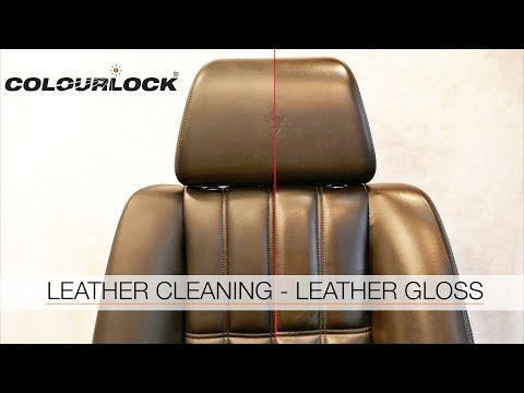 LEATHER CLEANING – LEATHER GLOSS