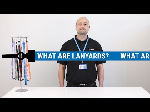 Lanyards: What are they, the benefits of them & the types we sell.