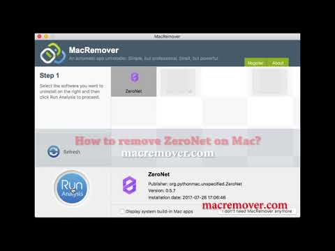 How to Remove ZeroNet on your macOS and Mac OS X?