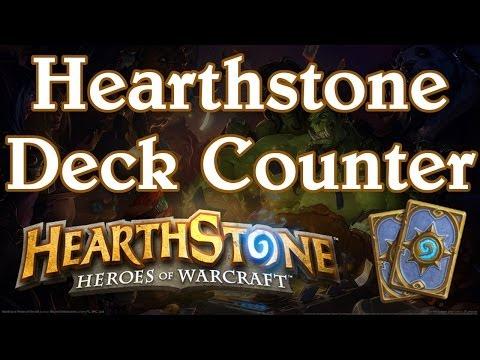 Hearthstone Deck Counter : Comptez les cartes piochées ! [ Logiciel Hearthstone ]