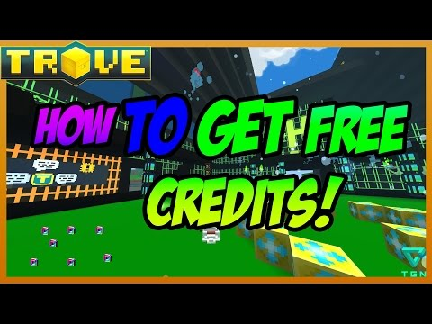 Trove: HOW TO GET FREE CREDITS!