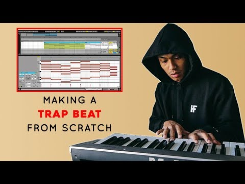 HOW to make a TRAP BEAT from scratch