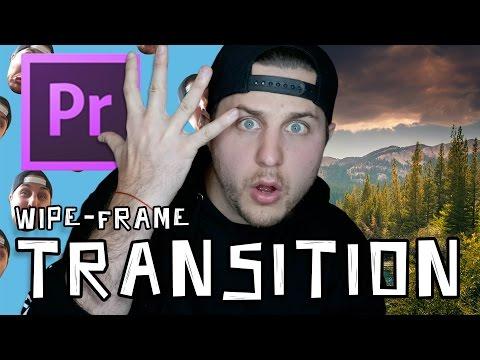 Wipe Frame - Adobe Premiere Transition Tutorial