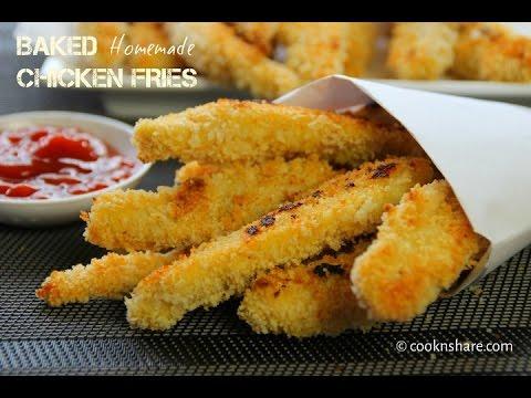 Homemade Chicken Fries