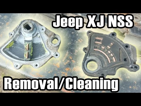 98 Cherokee NSS Removal & Cleaning