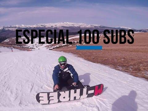 Snowboard y Esquí . ESPECIAL 100 suscriptores (1/2) | SJ4000