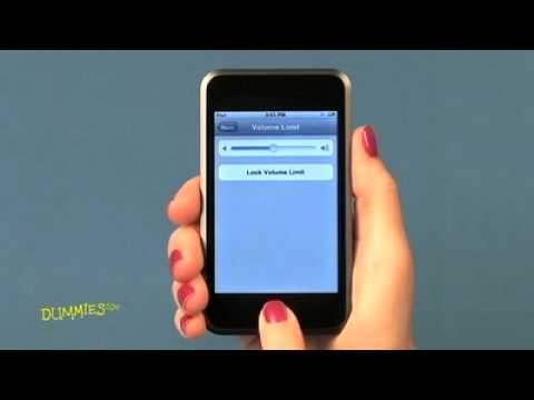 How to Adjust the Volume of Your iPod Touch For Dummies