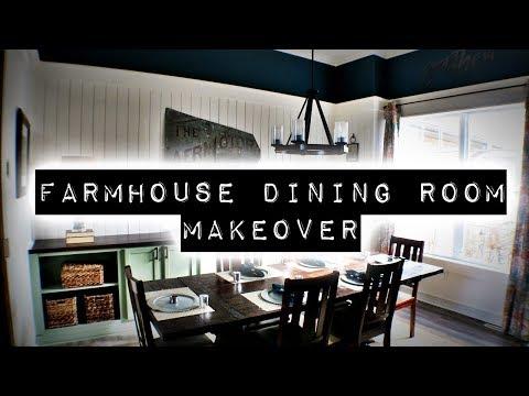 Farmhouse Dining Room Makeover   DIY & Home Design