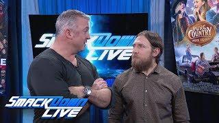 Shane McMahon questions Daniel Bryan