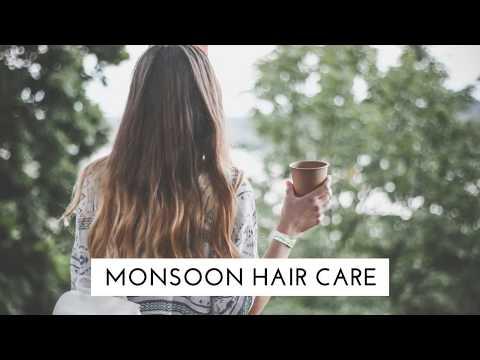 Monsoon hair care tips..!!