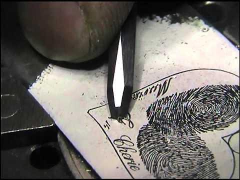 Hand Engraved Script Font