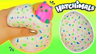 DIY Hatchimals Stress Ball Squishy! Super Cool Stress Ball!