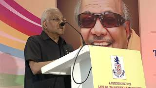 SICCI pays Homage to Kalaignar - AC Muthiah, Chairman, SPIC