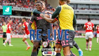 RE-LIVE   Barnsley 0-2 Leeds United   EFL Championship   15 September 2019