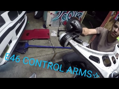CONTROL ARM SWAP E36 TO E46