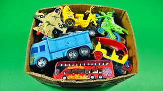 Box Filled My favorite toy vehicles I will introduce you to these | Box of toys |  PlayToyTime TV