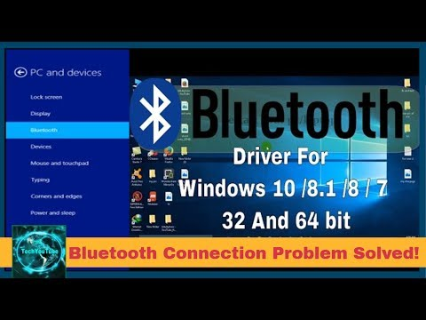 Bluetooth device Connection problem fixed in Windows 7, 8, 8 1 & 10