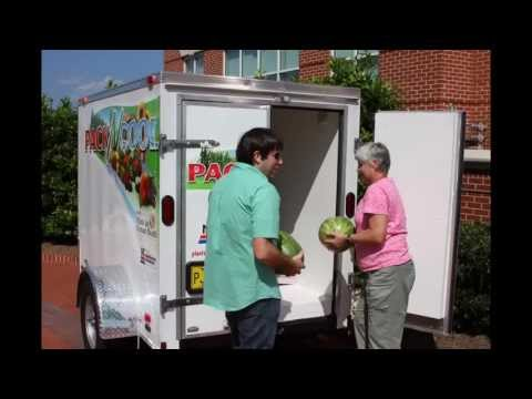 Pack 'N Cool Refrigerated Trailer for Fruits and Vegetables