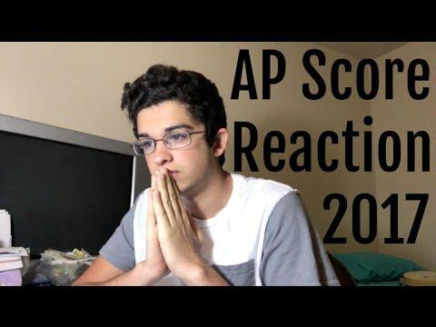 Reacting to my AP scores...