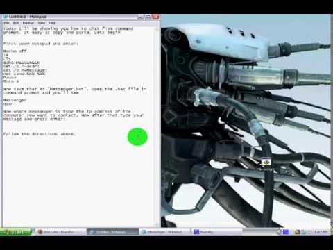 Chat from Command Prompt