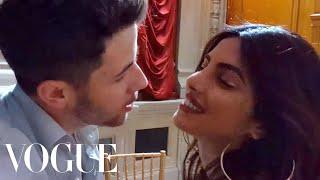 "Priyanka Chopra Dances to Nick Jonas's Song ""Close""   Vogue"