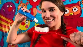 Brush Your Teeth! Live with Caitie on Super Simple Songs!