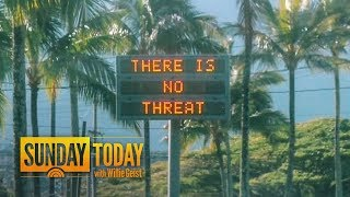 False Alarm In Hawaii Triggers Panic: How Did This Happen? | Sunday TODAY