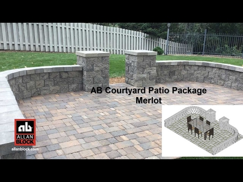 AB Courtyard Patio Package Merlot