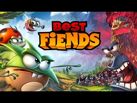 Best Fiends 2015, Clogged Cave, Game Play Video