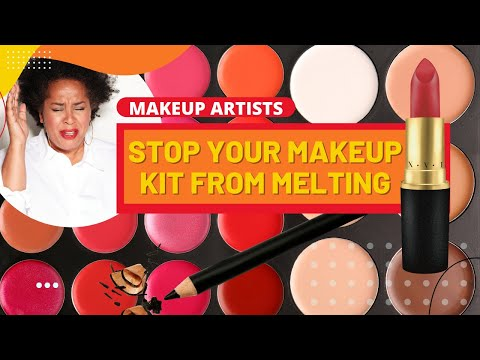 HOW TO STOP YOUR MAKEUP KIT FROM MELTING --LITERALLY (PRO MAKEUP ARTIST SERIES)