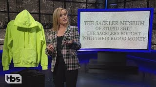 Richard Sackler Handsome Big P*nis Not a Murderer   March 6, 2019 Act 1   Full Frontal on TBS